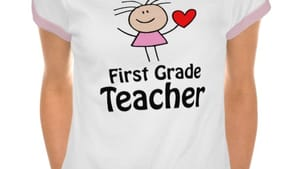 In theory, it looks so easy to teach first graders.