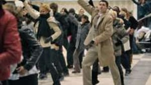 Flash mob in the London Underground: What better tonic for a hassled urban commuter?