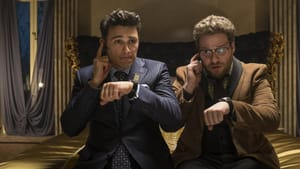 """Is it time to kowtow to threats? Franco and Rogen in """"The Interview."""" (Photo by Ed Araquel - © 2013 CTMG, Inc.)"""