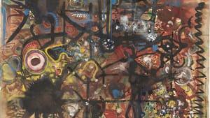 """""""Garnet Realm,"""" Richard Pousette-Dart, © Philadelphia Museum of Art."""
