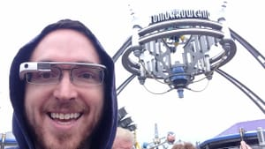 Google Glass or a theme park? Why choose? Do both! (Image from glassalmanac.com)