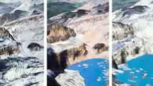 'Grinnell Mt. Gould' triptych (1938, 1998, 2006): Where are the snows of yesteryear?