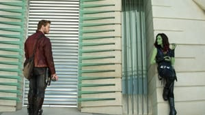 "Charming leads: Chris Pratt and Zoe Saldana in ""Guardians of the Galaxy"" (© 2014 - Marvel Studio)"