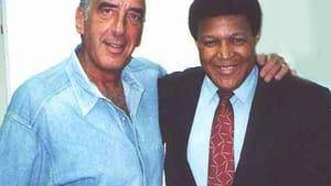 Harry Jay Katz and Chubby Checker in 2001. (Photo via harryjaykatz.com)