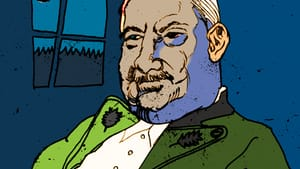 Who would Heidegger root for? (Drawing of Martin Heidegger by aeneastudio via Creative Commons/Flickr)