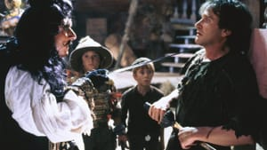 """Dustin Hoffman and Robin Williams in """"Hook"""" (© Sony Pictures Home Entertainment)"""