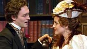 Sottile and Farhner: Un-tempting seductions. (Photo: Mark Garvin.)