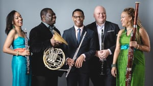 The Imani Winds join the Curtis Summerfest faculty roster this year. (Photo by Arts Management Group.)