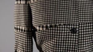 """Just"" a suit: Gilbert Adrian suit, c. 1947. FHCC purchase. (Photo by Michael J. Shepherd)"