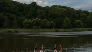 Dance comes to the Schuylkill. Image courtesy of INVISIBLE RIVER.
