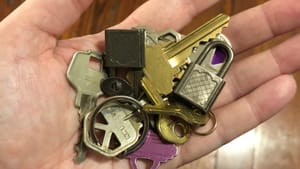 The keys to what? (Photo by Alaina Johns.)