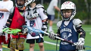 It starts with kids playing lacrosse. (Photo by Lee Weissman via uslacrosse.org)
