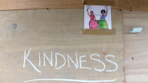 Nowadays, the ways we show kindness have shifted. (Photo by Anndee Hochman.)