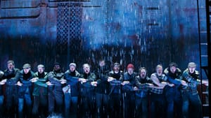"""Gusto and grace: """"The Last Ship"""" (Photo of the Chicago production by Joan Marcus)"""