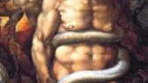 Detail from 'The Last Judgment': Michelangelo managed just fine without air conditioning.