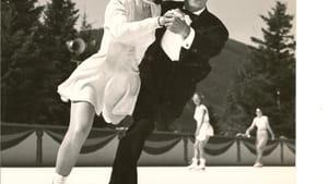 When skaters danced outside: Irene and Walter Muehlbronner.