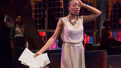 """The play reimagines the classic Nina Simone song """"Four Women."""" (Photo by Mark Garvin"""
