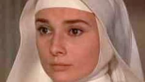 Not every nun was blessed with Audrey Hepburn's eyebrows, but a kid can dream, can't he?