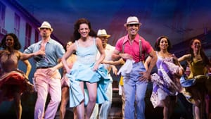 """Ana Villafane and the cast of """"On Your Feet!"""" (All photos by Matthew Murphy via broadway.com)"""