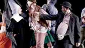 'Phantasmagoria': Brueghel via Taylor, complete with nun and Bowery bum.