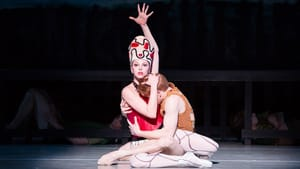 """Eschewing the cobra: Fadeley and Peters in """"Prodigal Son"""" (photo by Alexander Iziliaev)"""