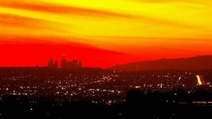 """""""Los Angeles Sunset"""" by Ron Reiring. (Via Creative Commons/Flickr)"""