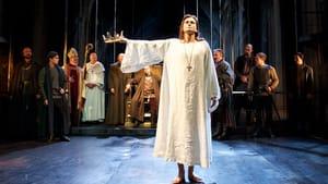 Tennant as Richard II: Christlike, albeit with a few flaws. (Photo: Richard Termine.)
