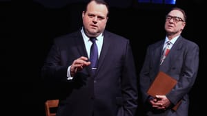 Greer (left) with Paul L. Nolan as Martin Weinberg: Remember Blaze Starr? (Photo: Paola Nogueras.)