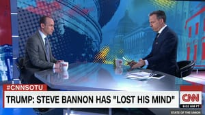 Miller (left), Tapper: Would you be offended if...? (Photo via CNN.com.)