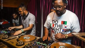 Mr. Sonny James and Matthew Law are two highly regarded DJs in Philly and beyond. (Photo courtesy of Shots Fired.)