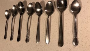 How many spoons do you have today? (Photo by Alaina Johns.)