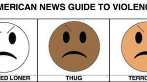 American news guide to violence. (Image via knowyourmeme.com)
