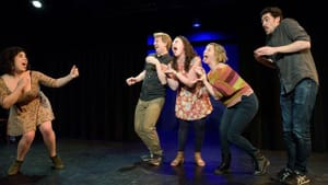 The improv show relies on the energy of the audience. (Photo provided by Thank You, Places Improv)
