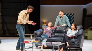 Dan Hodge, Suzy Jane Hunt, Kevin Collins, and Karen Peakes in 'The Real Thing': photo by Alexander Iziliaev.