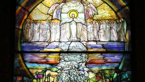 Tiffany was perfectly satisfied with this window at Wade Memorial Chapel in Cleveland. (Photo by Jon Dawson via Flickr/Creative Commons)