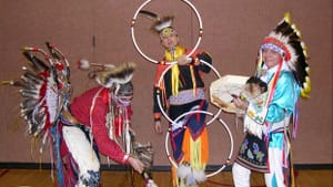 The Thunderbird American Indian Dancers will perform as part of Sundays on Stage. (Photo courtesy of the Free Library.)